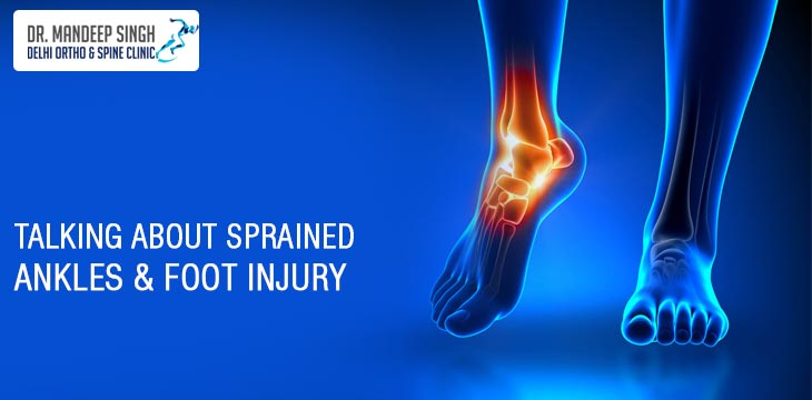 Talking About Sprained Ankles & Foot Injury