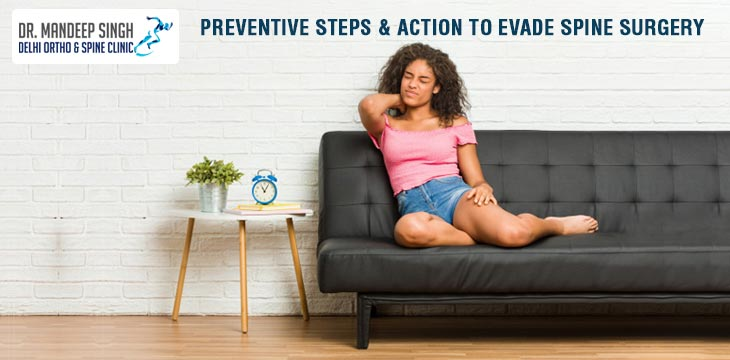 Preventive Steps & Action To Evade Spine Surgery